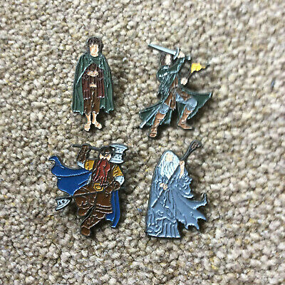 5 Lord Of The Rings  Pin Badges