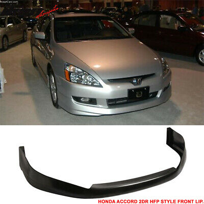 03-05 Honda Accord 2Dr Urethane Front Bumper Lip Spoiler Hfp-Style