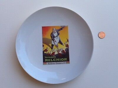Vintage Cocktail Vermouth Melchior Plate