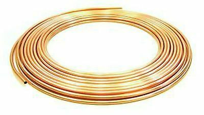 2 Metre Coils Of 4Mm/5Mm/6Mm/8Mm/10Mm Copper Pipe/tube/plumbing/water/gas/diy
