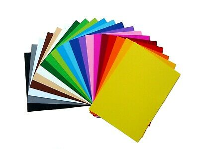 A5 Coloured & Neon Card Assorted Colours 180g 25 Sheets 21x15cm