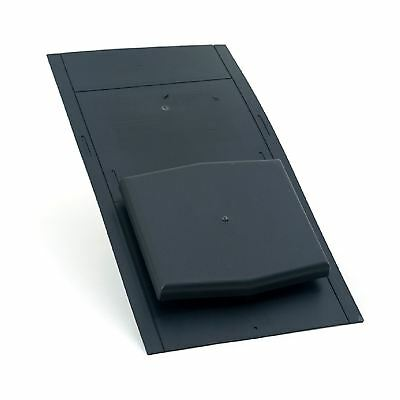 10K Slate Roof Vent Ventilator / Tile Ventilation for Extractor fans, Soil Pipe