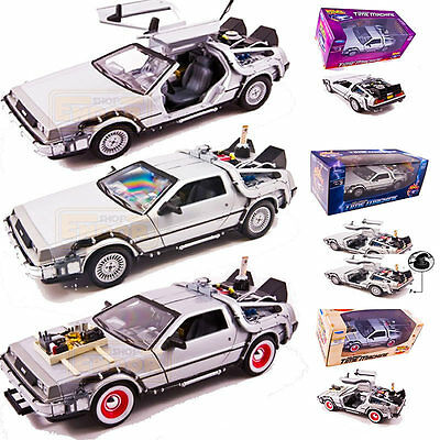 Delorean Coches Regreso al Futuro I,II,III Réplica 1/24 Back to the future hover
