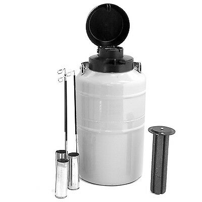 HFS (TM) 2 L Cryogenic Container Liquid Nitrogen LN2 Tank with carry bag