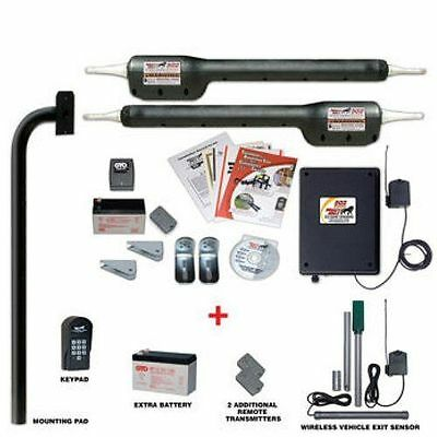 Mighty Mule Premium Tacoma II Automatic Dual Gate Opener Package
