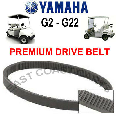Yamaha Golf Cart Primary Clutch Drive Belt G2/G8/G9/G11/G14/G16/G20/G22 J55G6241