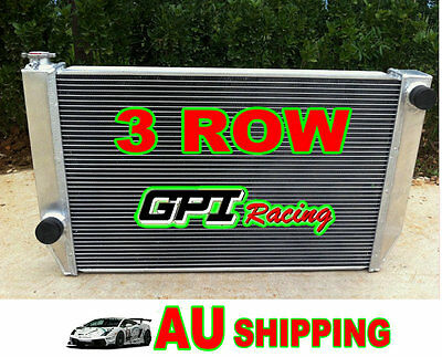 3 rows Aluminum Radiator for FORD Falcon XC XD XE XF V8 or 6 cylinder Manual