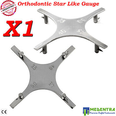 Star Like Bracket Positioning Gauge Orthodontic Dental Instruments Supplies CE**