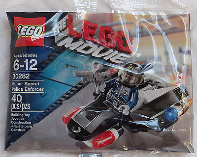 Lego The Movie Promo Pack 30282 Super Secret Police Enforcer Minifig Polybag Set