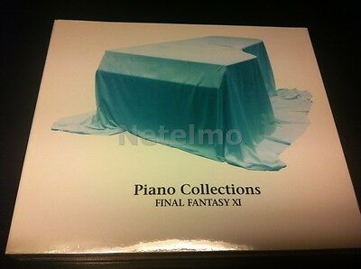 0807 NEW Final Fantasy XI Piano Collections Soundtrack CD Japan Music Game