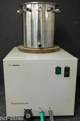 Thermo Savant Micro Modulyo-115 Bench Top 115 Freeze Dryer With 12 Port Manifold