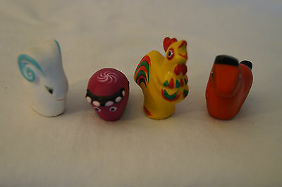 Collectable - Cute Animal Figurines - 4 x Various.