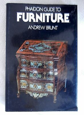 phaidon guide to furniture andrew brunt
