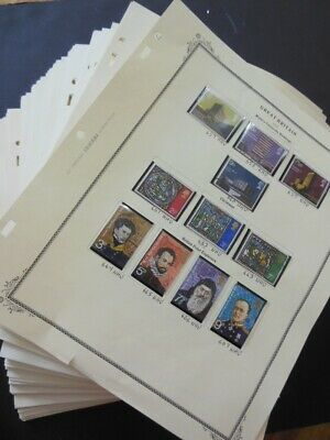 GREAT BRITAIN : Very nice, fairly complete collection Decimal Issues 1972-2006