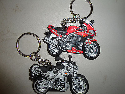 Suzuki Sv1000 650 Sv And Gsr600 / Bking 3D Style Rubber Keyring. Limited Stock