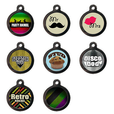 Pet Dog Cat ID Tag - Pet Tags - Personalised Discs -Tags for Dogs -Like Engraved