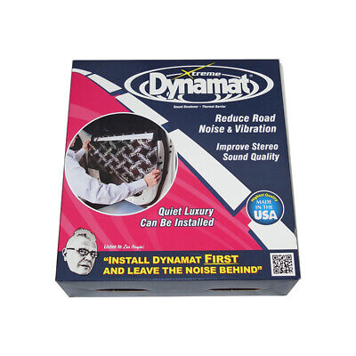 Dynamat Xtreme Car Door Kit Sound Dampening Dead Deadener Speaker Pack  10435