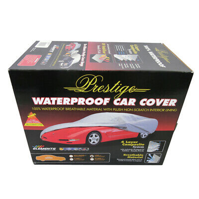 Car Cover Prestige Waterproof Small / Medium Breathable Uv 4 Layer Protection Cc