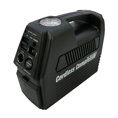 Rechargeable Air Compressor 12V / 240V Cordless Hand Held Portable Part # 3331
