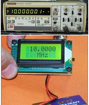 High Accuracy Frequency Counter 1-500M  Frequency measurement  Reading Frequency