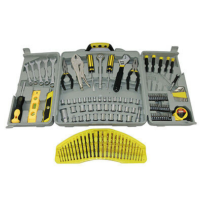 Tools & Equipment: Tool Kit Deluxe 125 Piece Kit Sockets Wrenches Screwdrivers B
