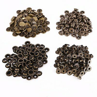 Heavy duty Poppers Snap Fasteners Press Stud Sewing Rivet Leather Craft Clothing