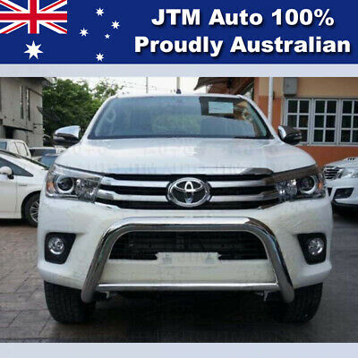 """TOYOTA Hilux Nudge Bar 3"""" Stainless Steel Grille Guard 2015 2016 0217"""