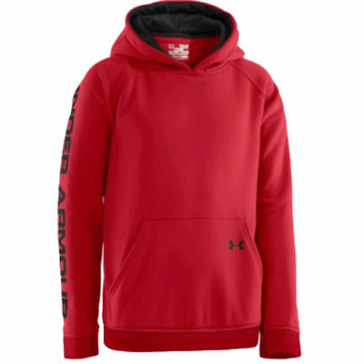 Under Armour Youth Outdoor ColdGear STORM Hoodie (Red) 1238336-600