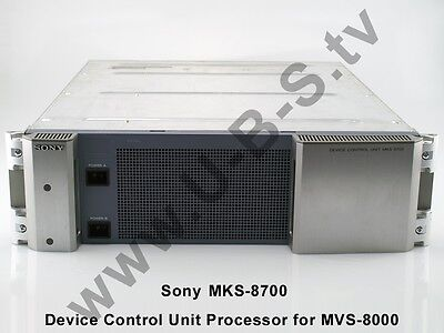 Sony MKS-8700 Device Control Unit Processor for MVS-8000 (+ backup power supply)