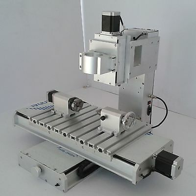 4 Axis Column CNC 3040 Router Table 50L Ball Type Engraving Machine Supporting
