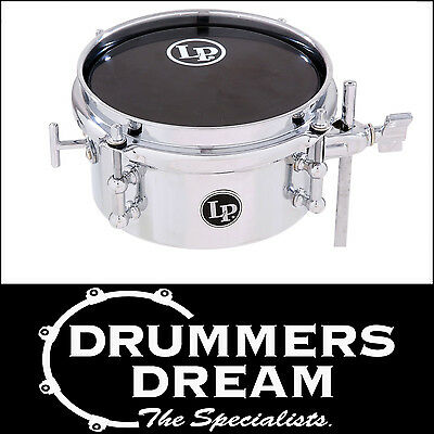 "LP Micro Snare Drum 6""  Chrome Plated Steel Shell RRP $259. LP846SN"