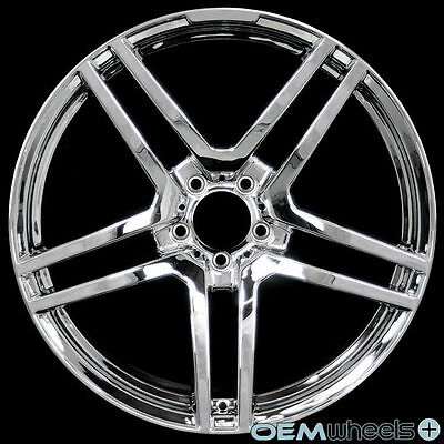 """20"""" CHROME WHEELS FITS MERCEDES BENZ AMG CLS E S SL WAGON STAGGERED RIMS"""