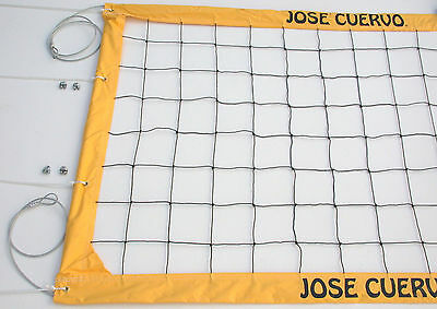 Jose Cuervo Tequila Volleyball Net Aircraft Cable Top and Bottom - JCCNC
