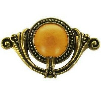 WF102 WATERFALL BAKELITE & DIE CAST DRAWER PULL FOR FURNITURE FROM THE 1930'S