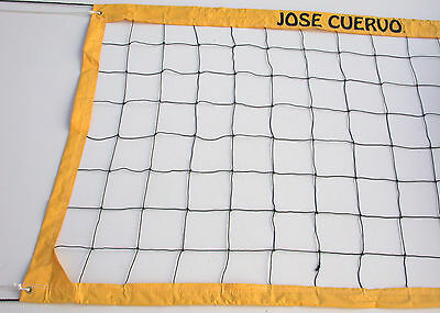 Jose Cuervo Tequila Volleyball Net Twisted Rope Top and Bottom - JCVRR