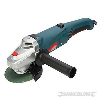 Angle Grinder 115mm 800W 3-position, front rotating handle with quick release