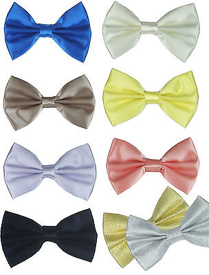 Uk Boys Elasticated Bow Tie - Pageboy, Wedding, Prom, Occasion
