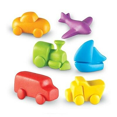 Transportation Vehicles Smart Pack Counting Manipulative Patterning Sequencing