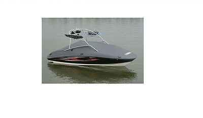 OEM Yamaha 230 Series Deluxe Boat Cover Charcoal MAR-230MC-TW-CH
