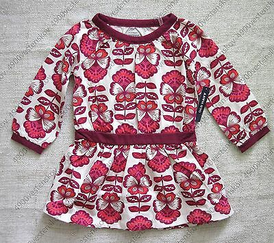 Old Navy toddler baby girl vintage style floral print drop waist jersey dress