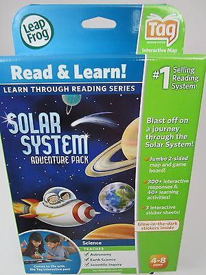 Leap Frog Solar System Adventure Pack Tag Reading System Read & Learn NIP