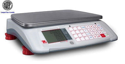 Ohaus Aviator 7000 Price Computing Scale NTEP, Legal For Trade, 60X0.02 LB,New