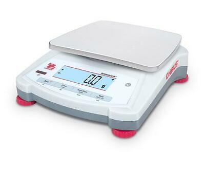 Ohaus Navigator NV1201 Precision Lab Balance, Food, Jewelry Scale,1200gX0.1g,New