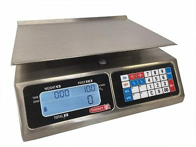 Torrey LPC-40L Price computing Scale, 40 lbx0.01 lb,NTEP,Legal For Trade,New