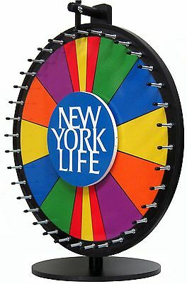 24in Prize Wheel Dry Erase Spin-to-Win with BONUS Section! Includes Custom Logo!