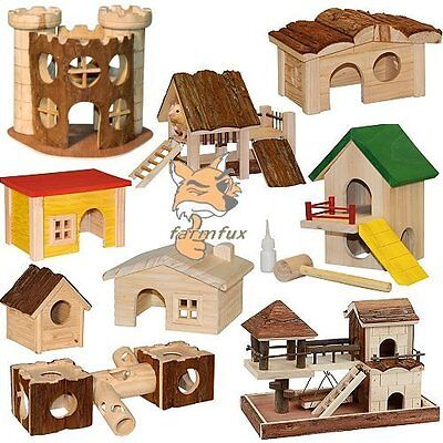 nagerhaus nature lodge m use hamster haus hamsterhaus spielplatz h hle leiter. Black Bedroom Furniture Sets. Home Design Ideas