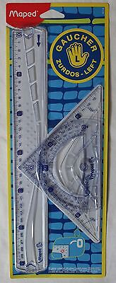 Maped Helix Left Handed Geometry Set - 3 Piece Geo Set - For school or College