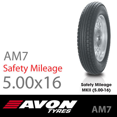 Avon AM7 Safety Mileage MkII 69S TT - 5.00-16