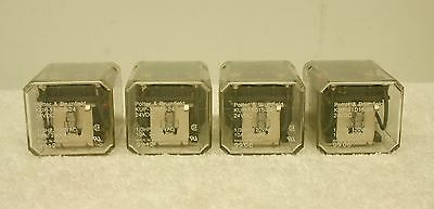Potter & Brumfield KUP-11D15-24 Ice Cube Relay Lot of 4 *XLNT* (#2)