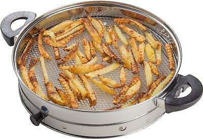 Halogen Oven Air Fryer Attachment For Oil Free Grilling Cooking By Andrew James